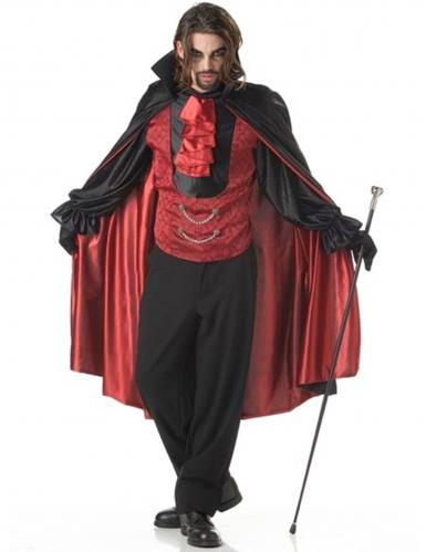 Déguisement prince des ténèbres vampire homme