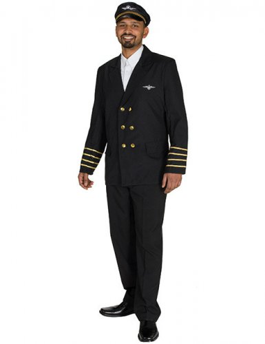 Veste de pilote d'avion homme