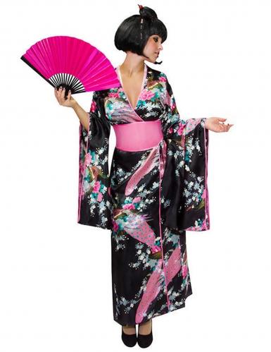 Déguisement kimono japonais femme
