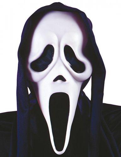 Masque fantôme noir et blanc Ghost Face - Scream™ adulte