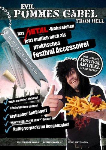 Fourchette pour frites heavy metal