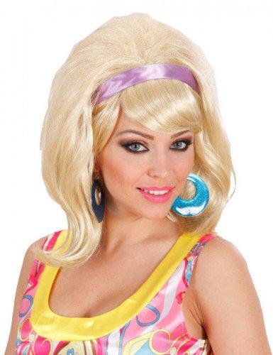Perruque 60's blonde