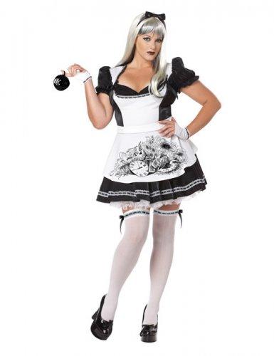 Déguisement Alice malfaisante Halloween femme grande taille