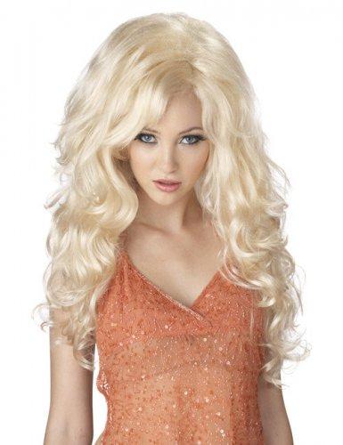 Accessoire perruque blonde sexy pour femme