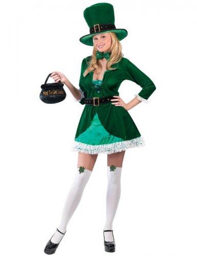 Costume de Leprechaun femme