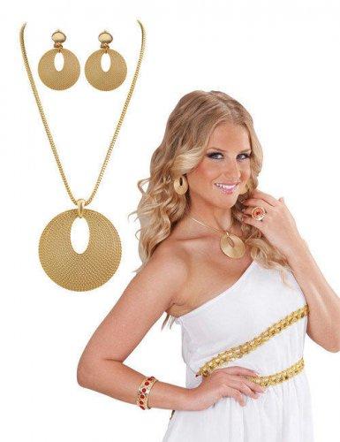 Bijoux dorés romains femme
