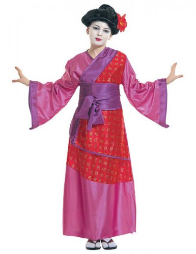 Déguisement geisha japonaise enfant