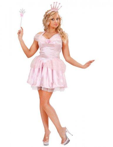 Déguisement reine des fées rose femme