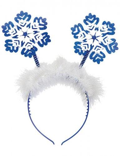 Serre-tête flocons de neige Noël femme