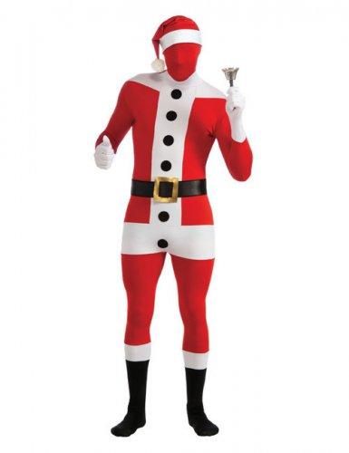 Déguisement Père Noël seconde peau adulte