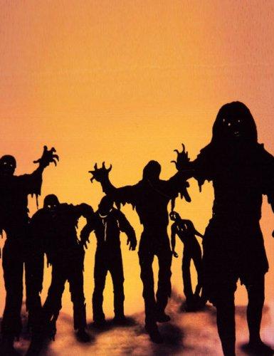 Pack décoration autocollants zombies