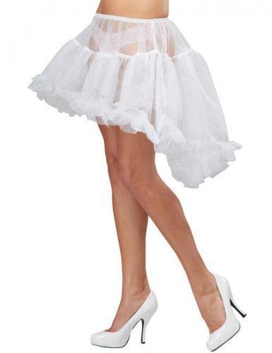 Jupon burlesque blanc