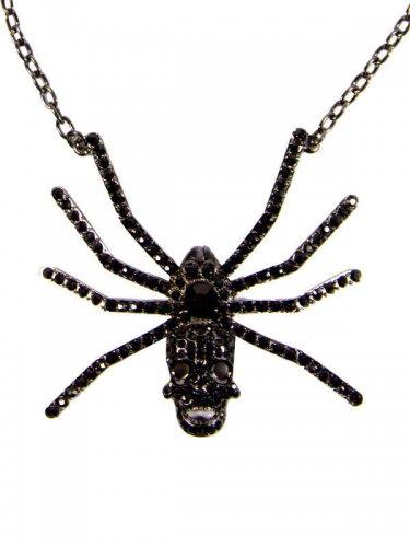 Collier crâne d'araignée adulte