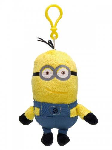 Porte-clé Minions™ Kevin 13cm jaune et bleu