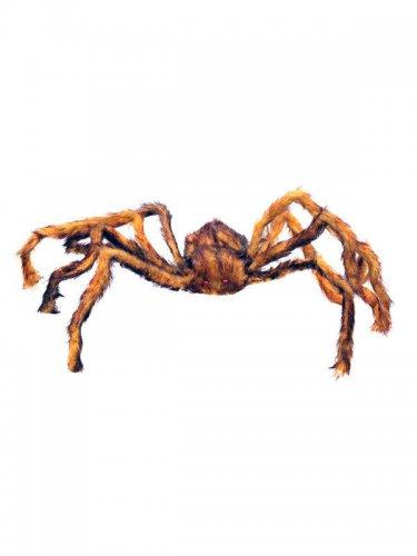 Araignée velue marron Halloween
