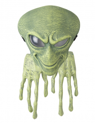Masque et gants alien adulte