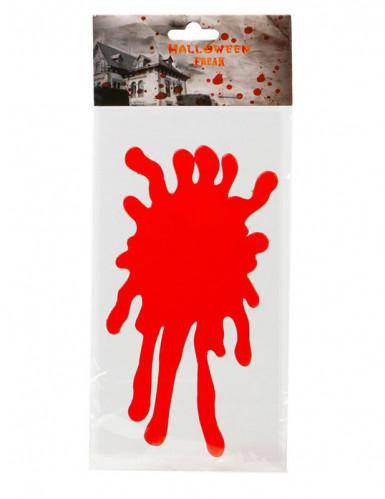 Autocollant pour fenêtre tache de sang 30 x 15 cm