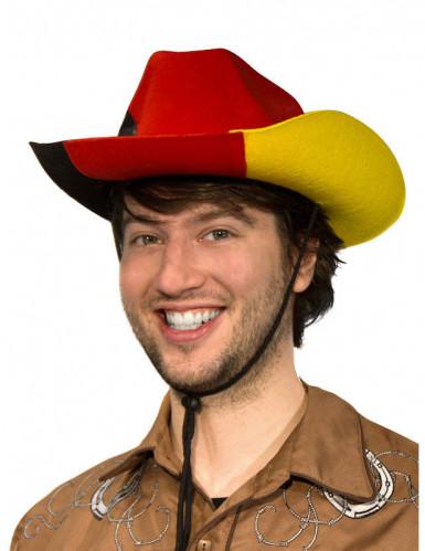 Chapeau de cowboy supporter Allemagne