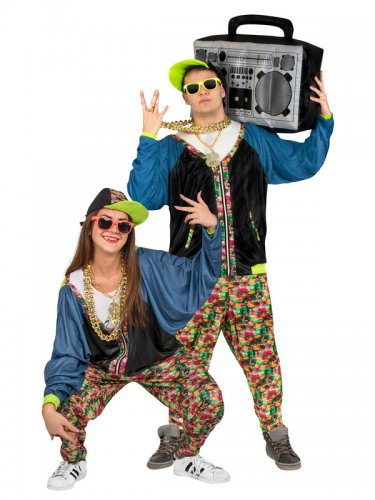 Déguisement hip-hop années 80 adulte-1