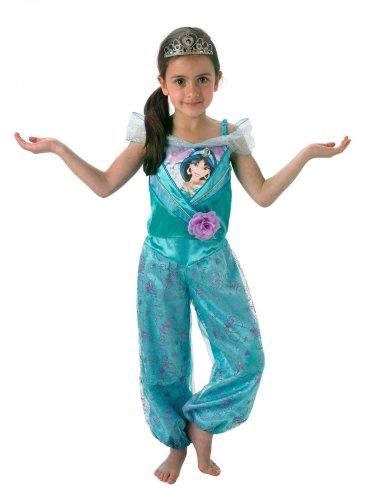 Déguisement avec tiare Jasmine™ fille
