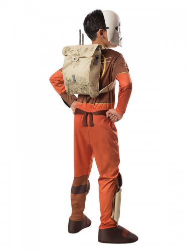 Déguisement Ezra Star Wars Rebels™ marron enfant-1