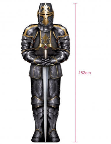Décoration chevalier avec armure 182 cm-1