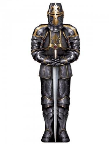 Décoration chevalier avec armure 182 cm