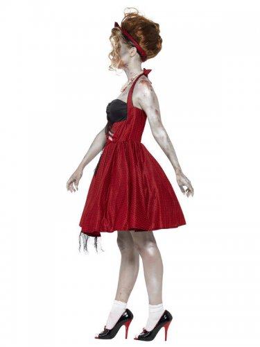 Déguisement effrayant zombie années 50 femme-1