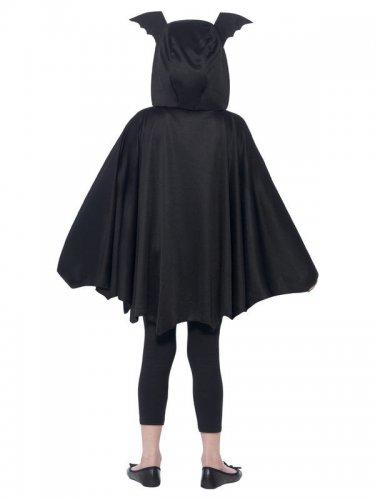 Déguisement poncho chauve-souris noir enfant Halloween-2