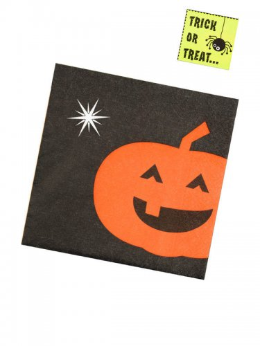 20 serviettes trick or treat 33 x 33 cm-1