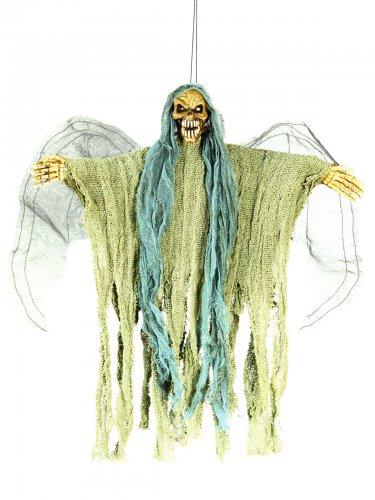 Décoration à suspendre squelette ange de la mort