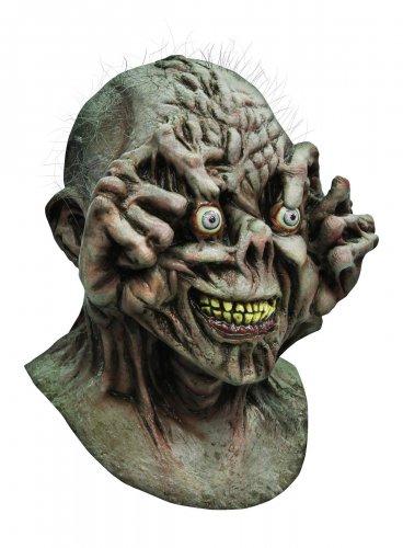 Masque monstre gris Halloween adulte
