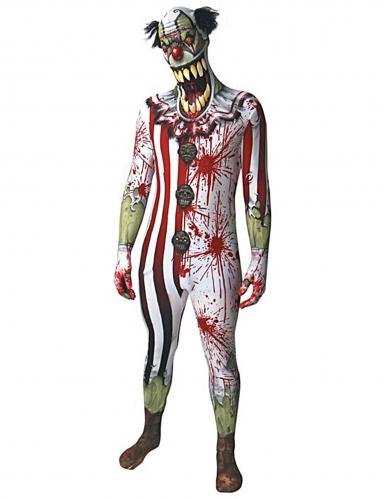 Déguisement clown ensanglanté adulte Morphsuits™ Halloween