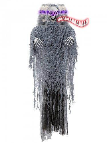 Décoration squelette animé 100cm Halloween