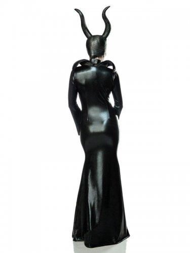 Déguisement sorcière noire sexy femme-1