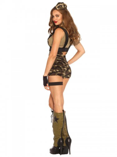 Déguisement militaire Booty camp sexy femme-1