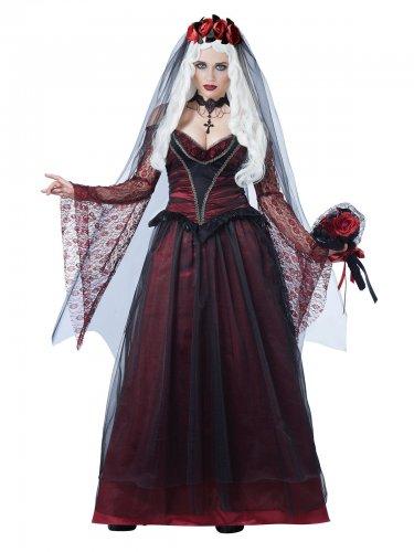Déguisement de mariée vampire gothique femme Halloween
