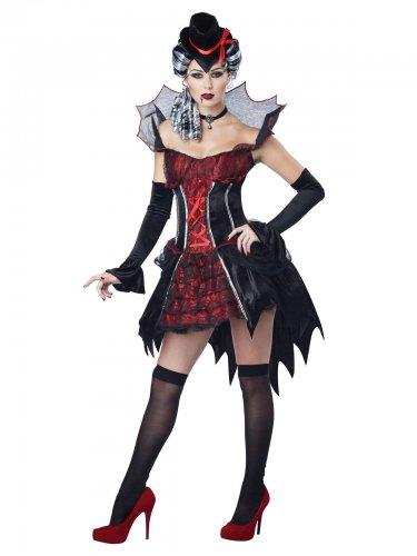 Déguisement de vampire baroque sexy pour femme