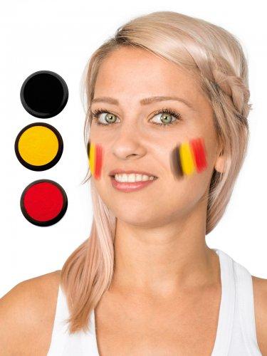 Palette de maquillage tricolore Belgique