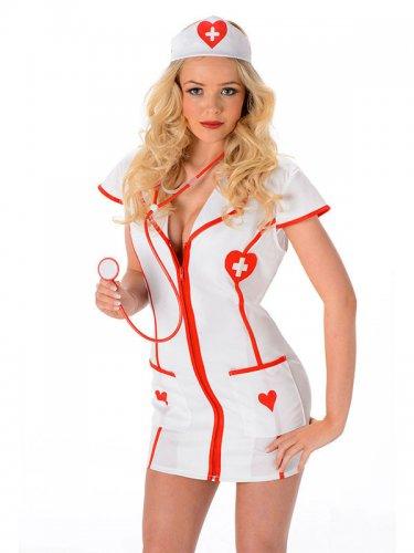 Déguisement infirmière petit coeur sexy-1