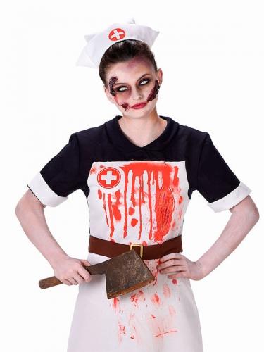 Déguisement infirmière sanglante femme Halloween-1