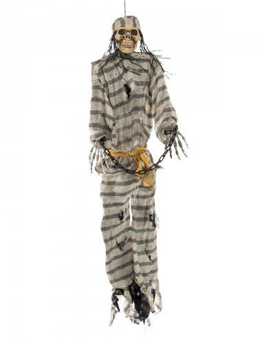 Squelette prisonnier suspendu 106 cm