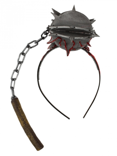 Serre-tête arme médiévale ensanglantée 49 cm-1