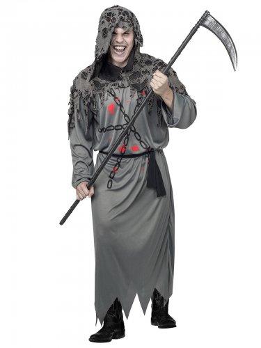 Déguisement faucheuse Halloween homme