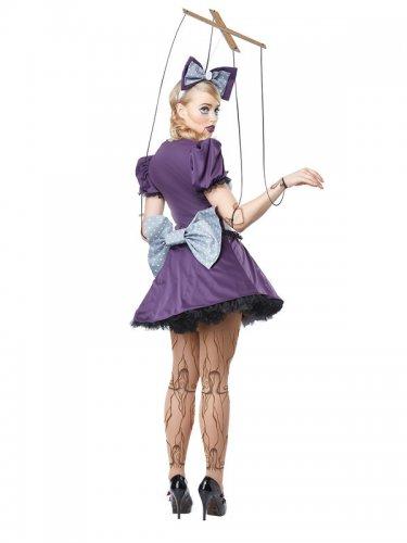 Déguisement de poupée marionnette femme-1