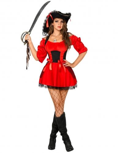 Déguisement femme pirate sexy