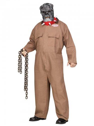 Déguisement prisonnier bouledogue grande taille homme