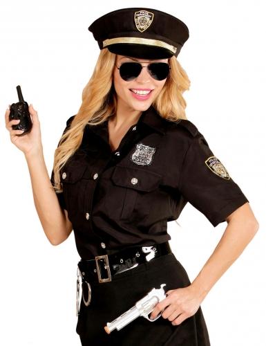 Déguisement policière noire femme