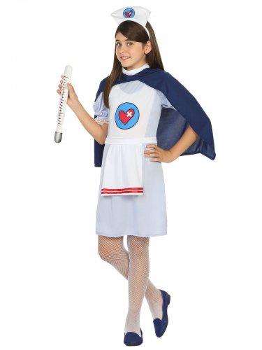 Déguisement petite infirmière docteur enfant