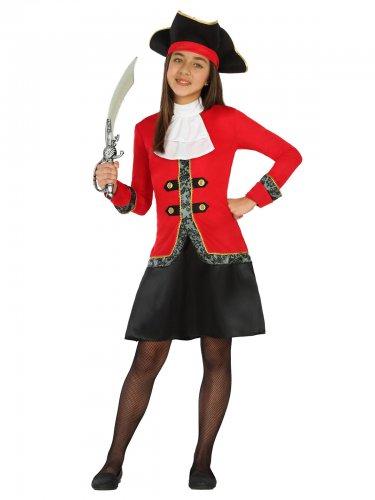Déguisement pirate boucanier fille